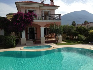 Three bedroom villa set in central Fethiye close to the harbour front with established holiday rentals record. Offered with all furnishings. £99,000
