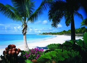 Jumby Bay is a 300-acre private island located two miles off Antigua