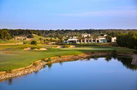 Recently completed roperties overlooking the golf course
