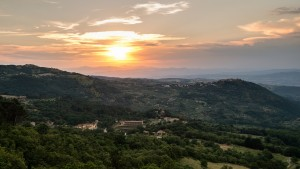 Terre Gialle Residence & Resort is located in the endless rolling hills of Tuscany