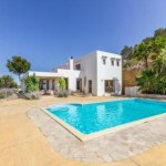 This Ibiza property has an ideal 'getaway' location but easy access to Ibiza Town