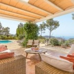 With four bedrooms and three bathrooms, this San Miguel home in Ibiza stand out for location